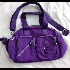 Kipling DEFEA Top-Handle Violet Handbag